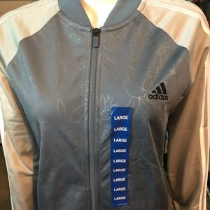 Adidas jacket for ladies size L